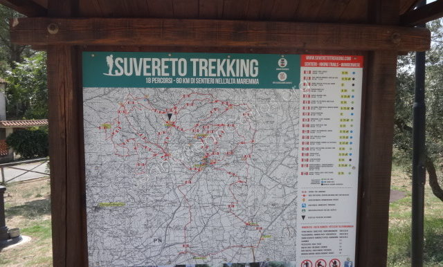 Trekking opportunities in Suvereto